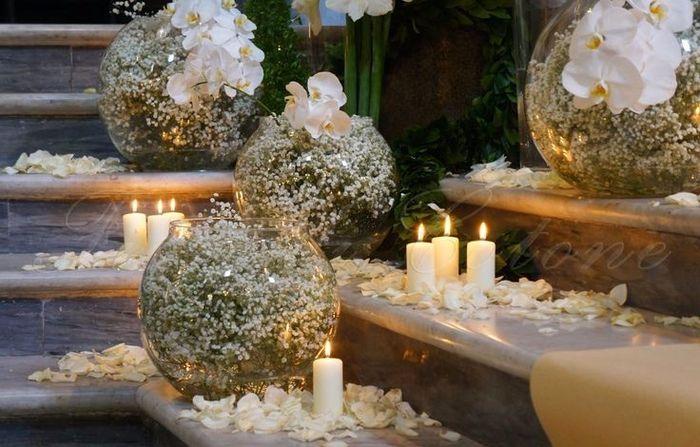 Allestimento chiesa organizzazione matrimonio forum for Addobbi tavoli matrimonio con candele