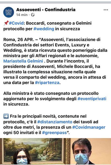 Matrimoni e greenpass 1