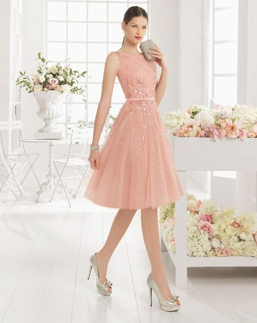 💗 Abiti da cerimonia pink style 1