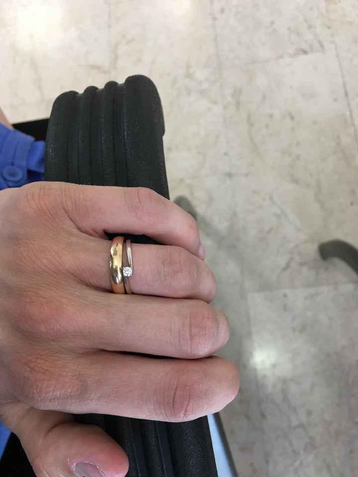 Abbinamento fede  + anello - 1