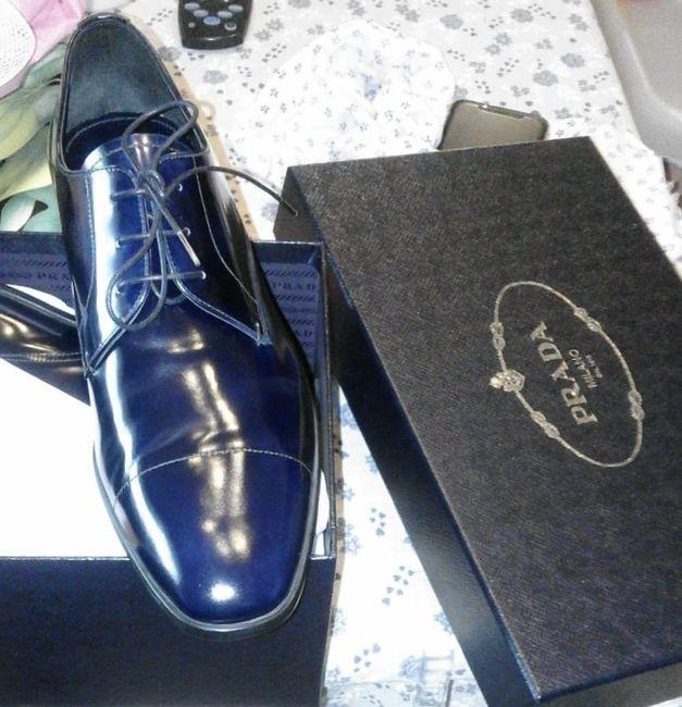 Ed ecco le scarpe dello sposo 🌸 2