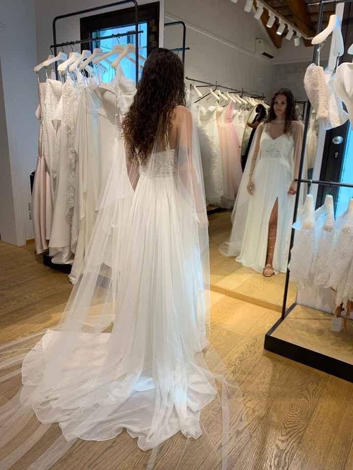 Vestito da sposa quasi pronto - 1