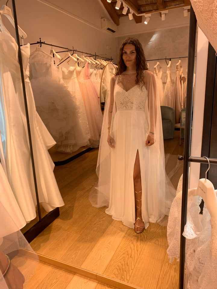 Vestito da sposa quasi pronto - 2