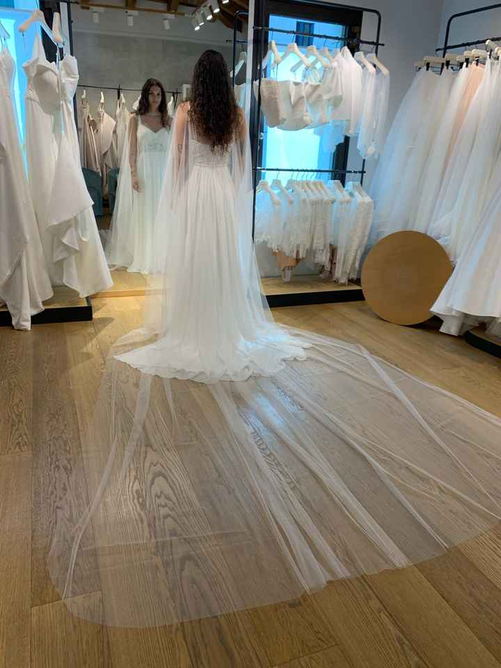 Vestito da sposa quasi pronto - 3