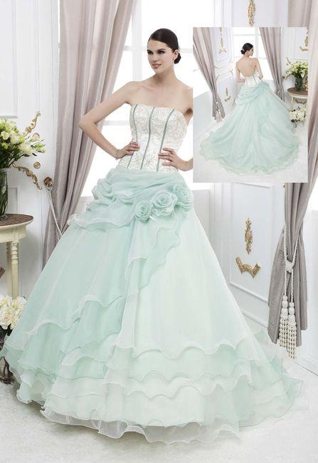 Vestito Matrimonio Rustico : Vestito verde foto matrimonio