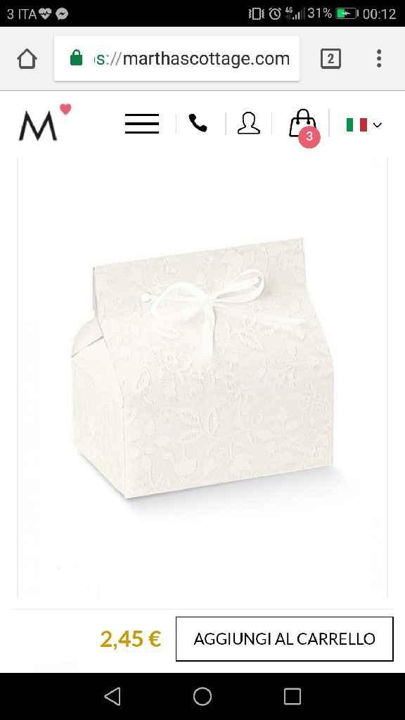 Scatolina confetti non invitati - 1