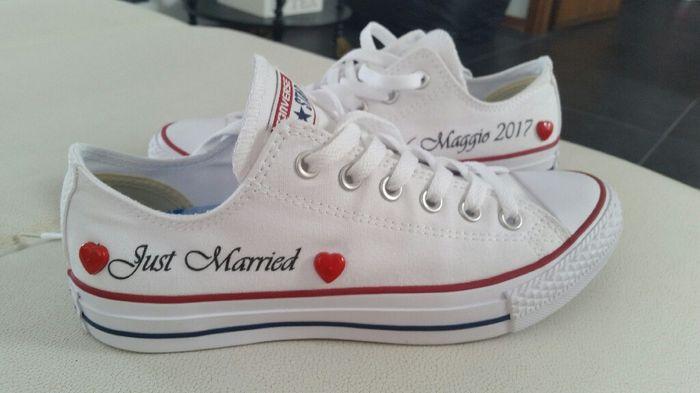 Favoloso Converse al matrimonio - Moda nozze - Forum Matrimonio.com XY26