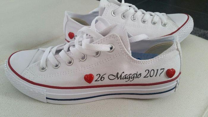 Conosciuto Converse al matrimonio - Moda nozze - Forum Matrimonio.com DI87