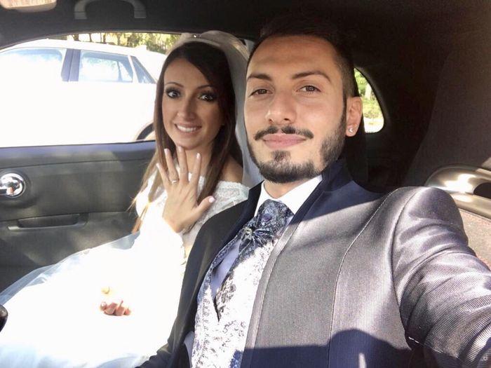 Il primo Selfie da sposati!! 😜❤️📷💒 7