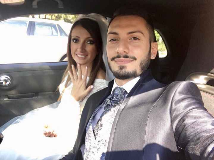 Il primo Selfie da sposati!! 😜❤️📷💒 - 1