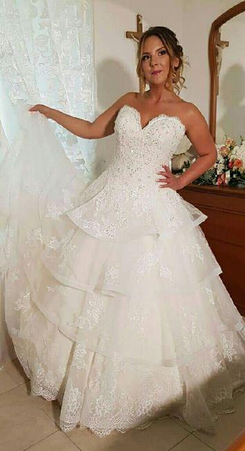 Abito da sposa a balze: si usa ancora ? 3