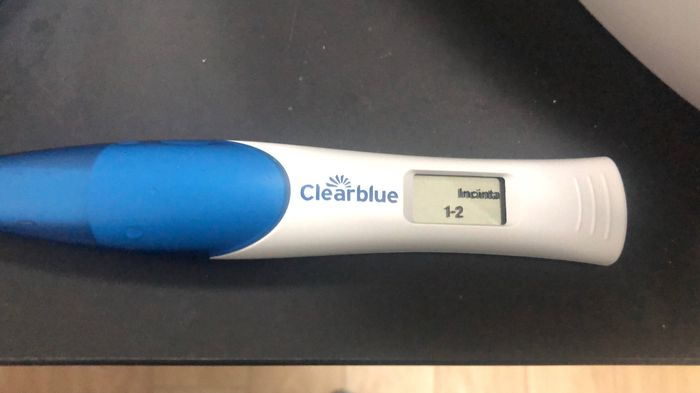 Primi sintomi gravidanza e Clearblue Rilevazione Precoce 1