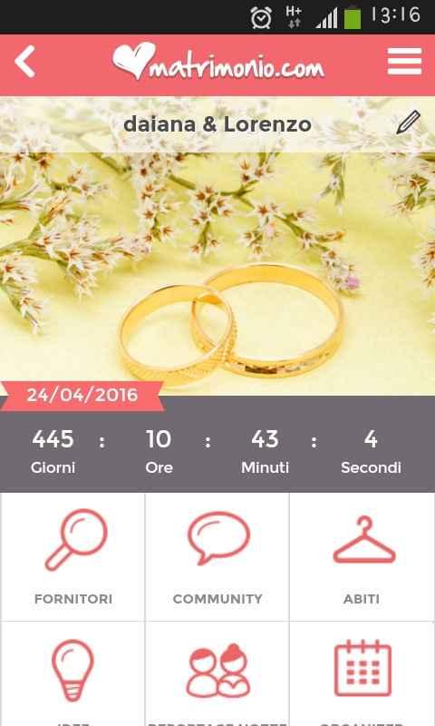 Quanto manca alle vostre nozze??? - 1