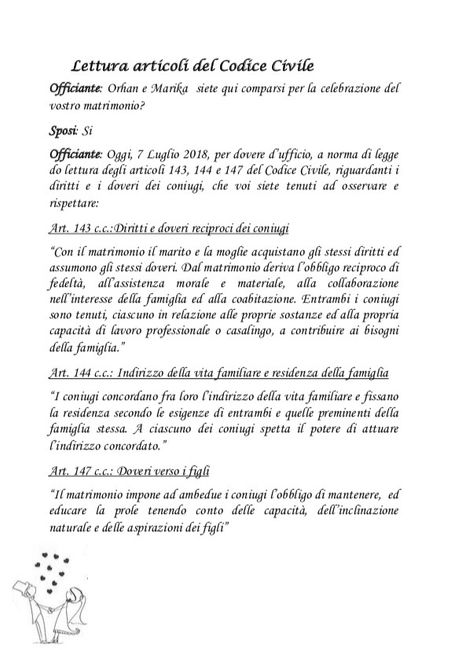Libretto Matrimonio Simbolico Pdf : Libretto cerimonia civile fai da te forum matrimonio