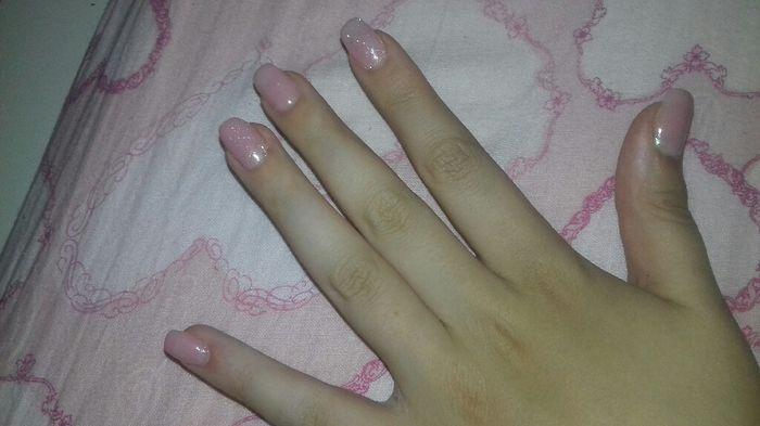 Ecco le mie mani per il wedding day di sabato - 1