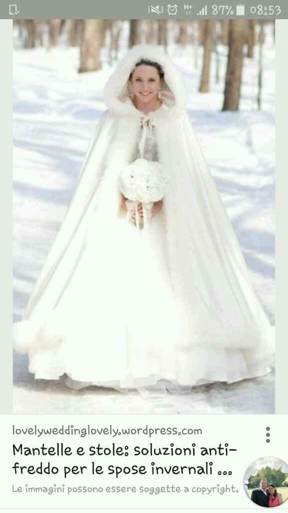 Mantello da sposa - 1