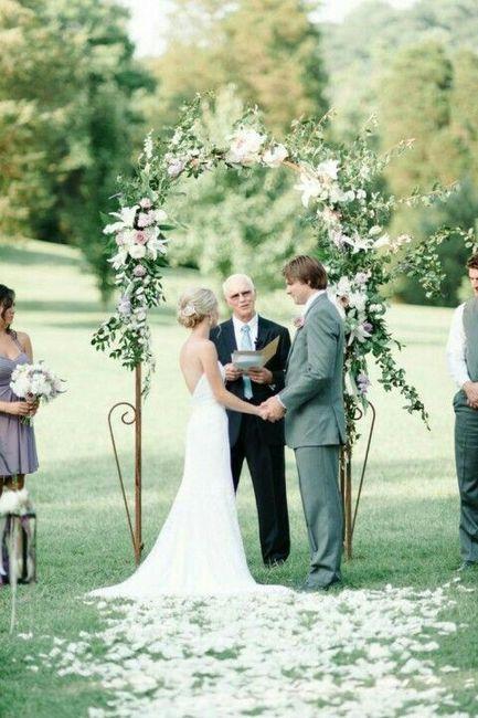 Matrimonio Simbolico Idee : Arco gazebo rito simbolico ricevimento di nozze forum
