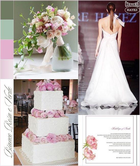 Matrimonio In Rosa E Bianco : Matrimonio sul rosa e bianco pagina organizzazione