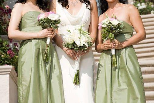 fdae61d5a6fd Colore abito damigelle abbinato al vestito sposa - Moda nozze ...