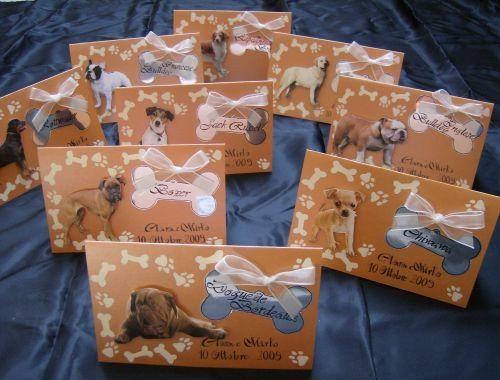 Matrimonio Tema Animali : Segnaposto tema cani foto organizzazione matrimonio