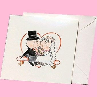 Immagini sposini partecipazioni foto for Disegni sposi stilizzati