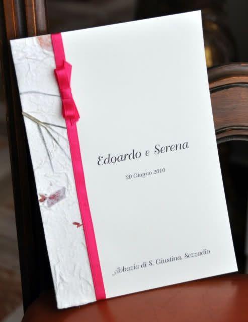 Favoloso Libretti messa - Organizzazione matrimonio - Forum Matrimonio.com NL49