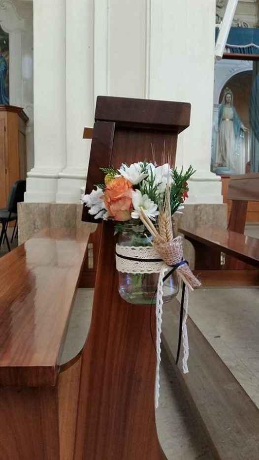 Addobbo country chiesa 1