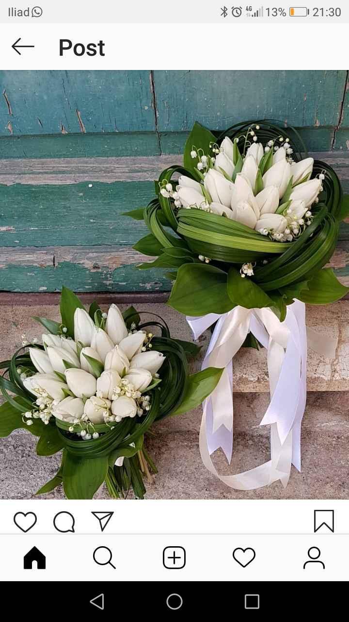 Bouquet rose e tulipani a ottobre! - 1