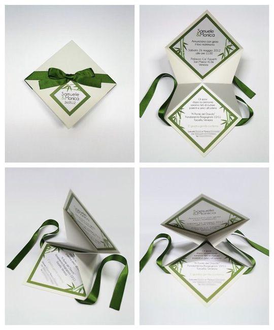 Favoloso Partecipazioni origami help impaginazione! - Fai da te - Forum  LF41