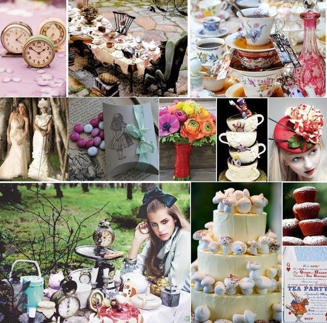 Matrimonio Alice In Wonderland : Tema alice in wonderland página organizzazione