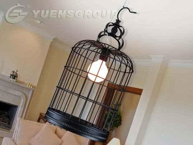 gabbietta a lampadario