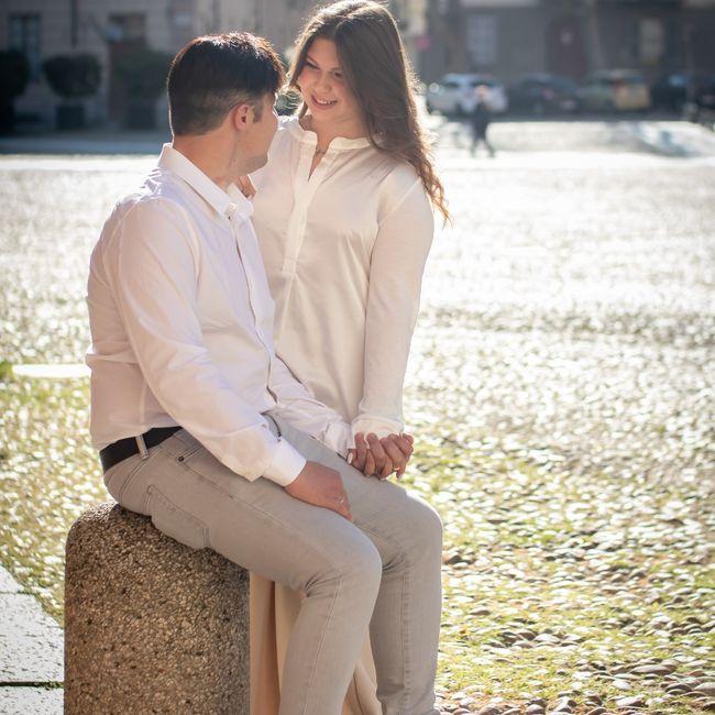 Avete fatto il servizio fotografico prematrimoniale? 🤍📸 11