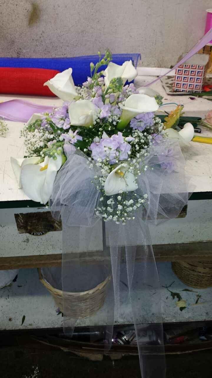 Le mie composizioni fiori chiesa - 1