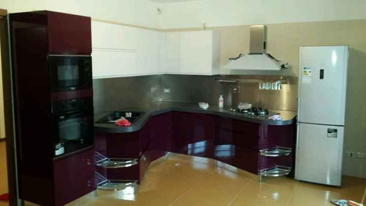 Cucina viola - 1