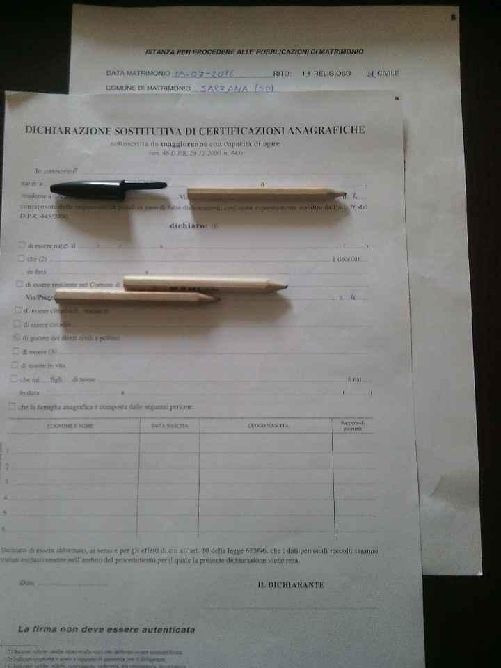 Doc. certificazione anagrafica - 1