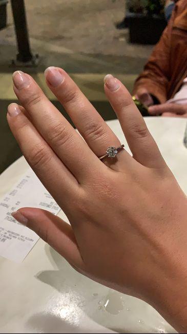 Che tipo di anello hai ricevuto alla proposta? 7