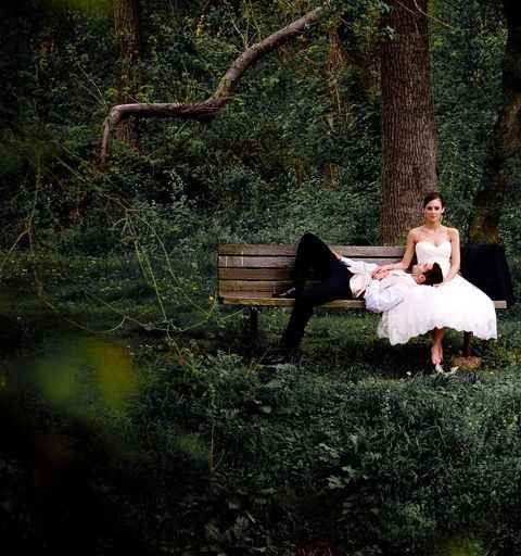 "Foto ""momento relax"" nel parco"