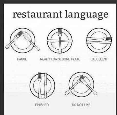 Il linguaggio silenzioso delle forchette