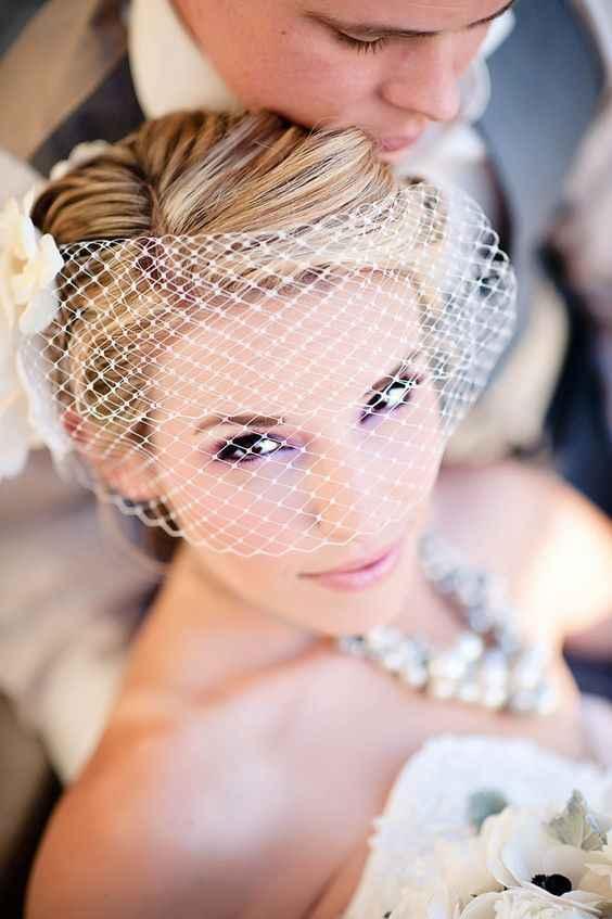 Foto trucco occhi alla sposa