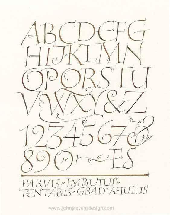 Esempio di Calligrafia