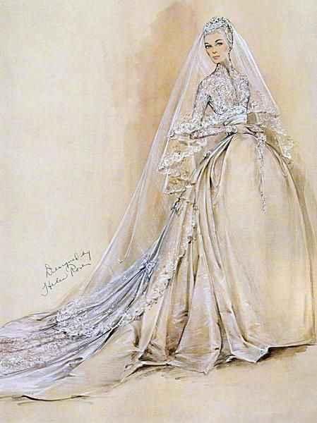 Grace Kelly - abito da sposa