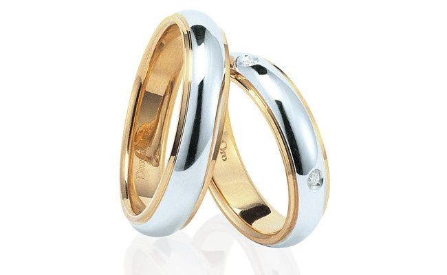 Matrimonio In Giallo E Bianco : Fedi oro giallo e bianco organizzazione matrimonio