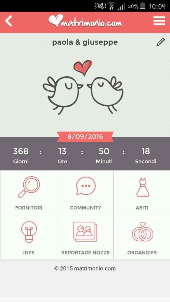 Quanti giorni mancano alle vostre nozze? :) - 1