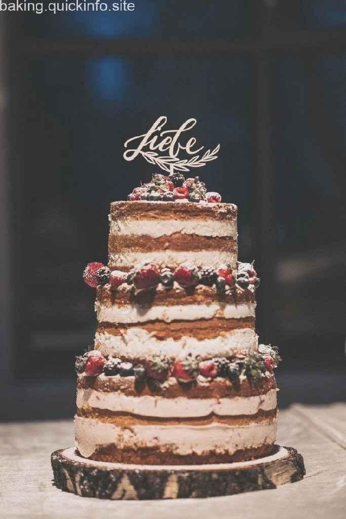 Wedding Cake: Nuda Vs. Ricoperta - 1