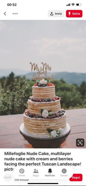 Wedding cake 🍰 1