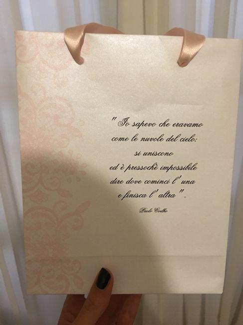 Finalmente arrivate le mie adorate wedding bag!!!! - 2