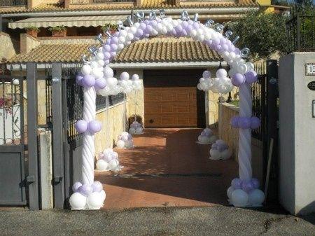 Idee per decorazione uscita della sposa fai da te forum - Decorazione archi in casa ...
