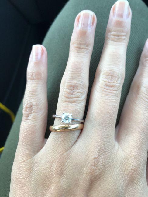 Pulizia anello di fidanzamento 1