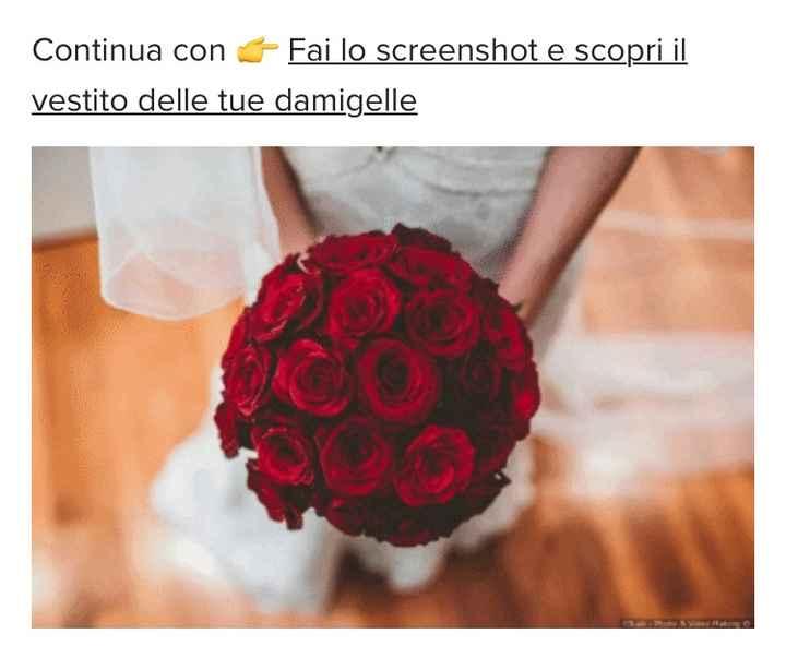 Fai lo screenshot e scopri il tuo bouquet 14