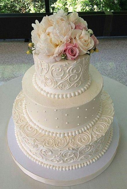Mi mostrate la vostra torta nuziale che avete scelto? - 1